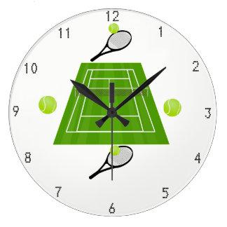 Relógio Grande Tênis Wallclock