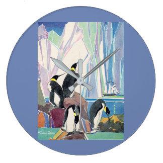 Relógio Grande terra do pinguim