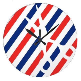 Relógio Grande Tesouras do barbeiro