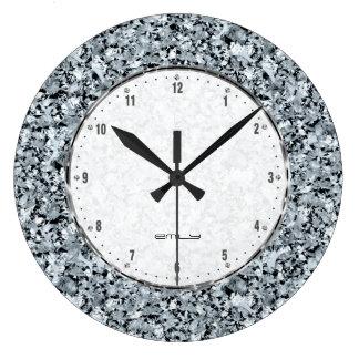 Relógio Grande Teste padrão sem emenda dos diamantes brancos
