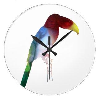 Relógio Grande Toucan