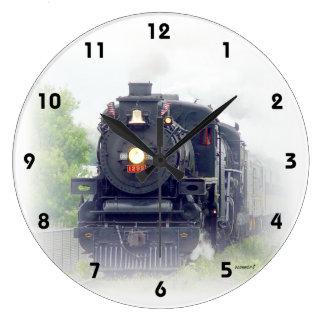 Relógio Grande Trem americano do vapor