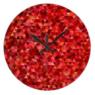 Relógio Grande Triângulos sangrentos