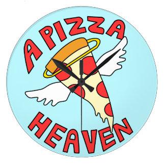 Relógio Grande Um céu da pizza