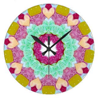 Relógio Grande Um Fractal do amante dos doces