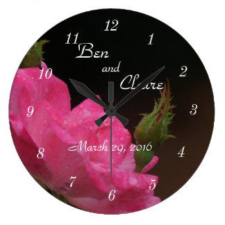Relógio Grande Um pulso de disparo cor-de-rosa 4386 de Knockoout