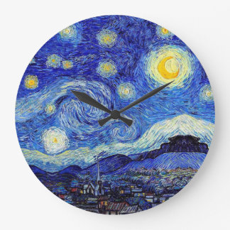 Relógio Grande Uma noite estrelado inspirou pulsos de disparo de