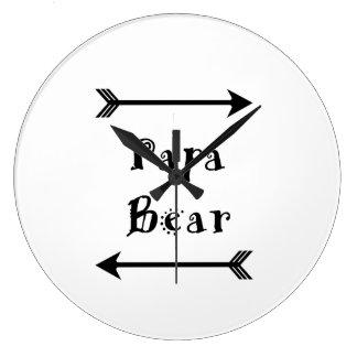 Relógio Grande Urso da papá