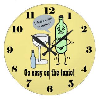 Relógio Grande Vá fácil no tónico