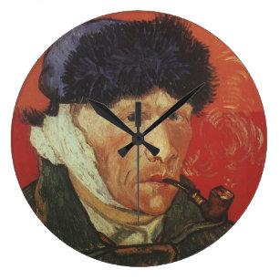 d7872ae513a Relógio Grande VAN GOGH - retrato de auto com orelha e a