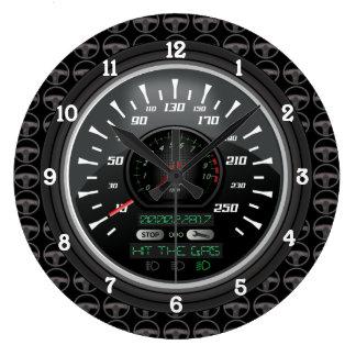 Relógio Grande Velocímetro personalizado V.2