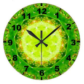 Relógio Grande ~ verde ~Pretty do cacto de Succelent