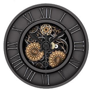 Relógio Grande Vintage à moda Steampunk #5C