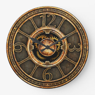 Relógio Grande Vintage Steampunk v2