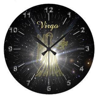 Relógio Grande Virgo brilhante