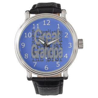 Relógio Grande vovô Extraordinaire