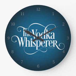 Relógio Grande Whisperer da vodca