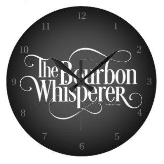 Relógio Grande Whisperer de Bourbon