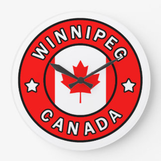 Relógio Grande Winnipeg Canadá