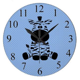 Relógio Grande Zebra