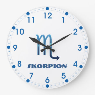 Relógio Grande Zodíaco de Blau Skorpion
