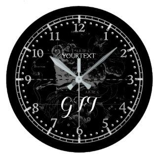 Relógio Grande Zodíaco personalizado da constelação do Aries do