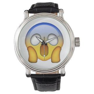 Relógio Gritar - Emoji