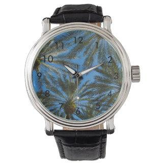 Relógio Guarda-chuva das palmeiras