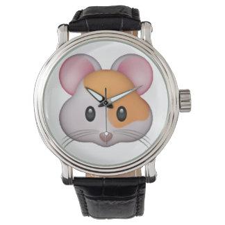 Relógio Hamster - Emoji