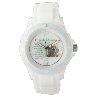 Relógio Herança do Mastiff do inglês do amor