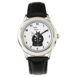Relógio Hipopótamo com citações