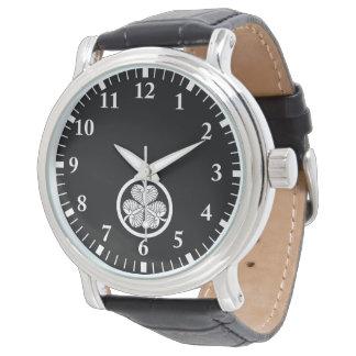 Relógio Hollyhock 3 de Tokugawa (4o Ietsuna) 19