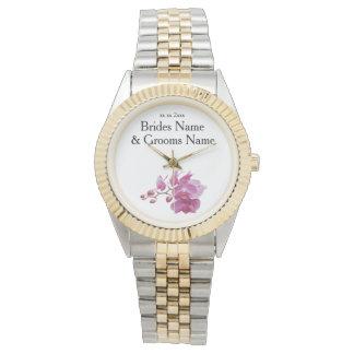 Relógio Ideias elegantes simples modernas do casamento da