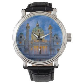 Relógio Igreja do santo Charles, Viena