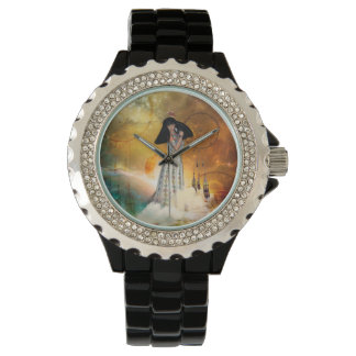 Relógio Indiano amarican bonito