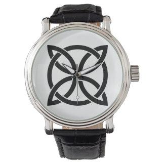 Relógio irlandês antigo do pagan do símbolo de ireland do