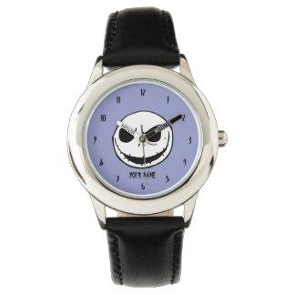 Relógio Jack Skellington - cabeça