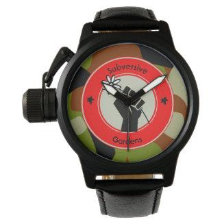 Relógio Jardins subversivos