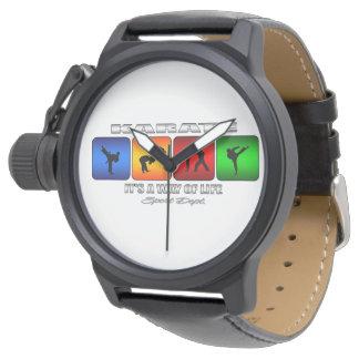 Relógio Karaté legal é um modo de vida