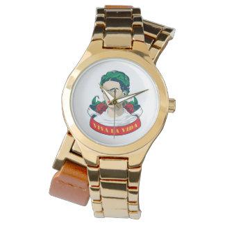 Relógio La Vida de Frida Kahlo   Viva