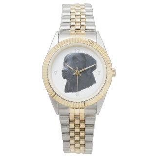 Relógio Labrador preto