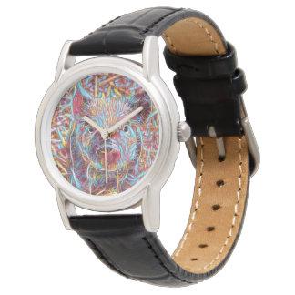 Relógio Leitão funky animal de ArtStudio-