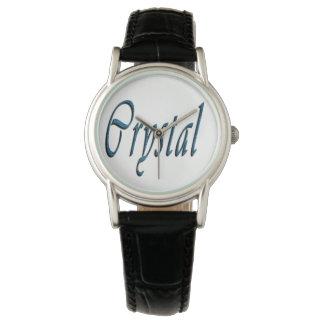 Relógio Logotipo conhecido das meninas de cristal,
