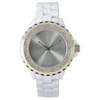 Relógio Luz de prata