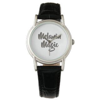 Relógio mágico chique da coroa de BlackMelanin