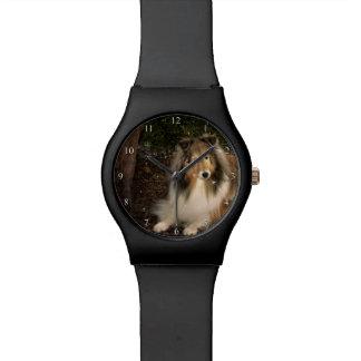 Relógio mágico de Sheltie