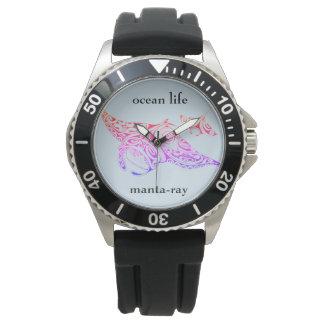 Relógio Manta-raios da VIDA do OCEANO
