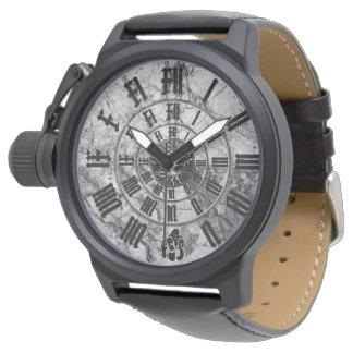 Relógio Mármore Gold Of Savannah