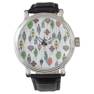 Relógio marroquino mágico das lanternas