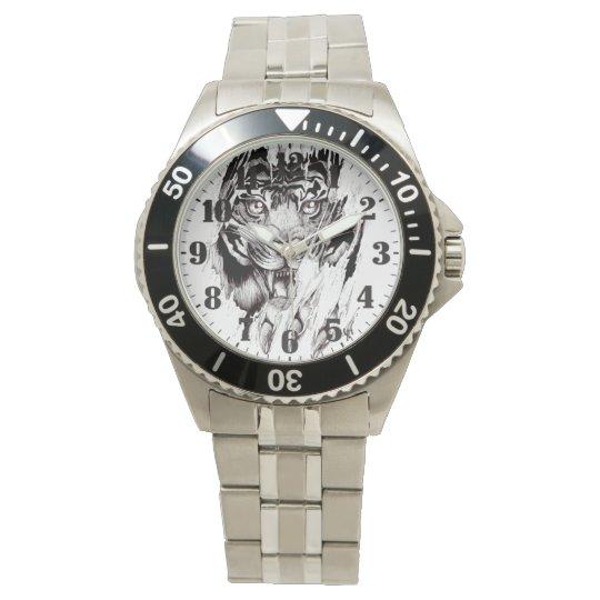 """Relógio masculino de aço """"TIGER"""""""